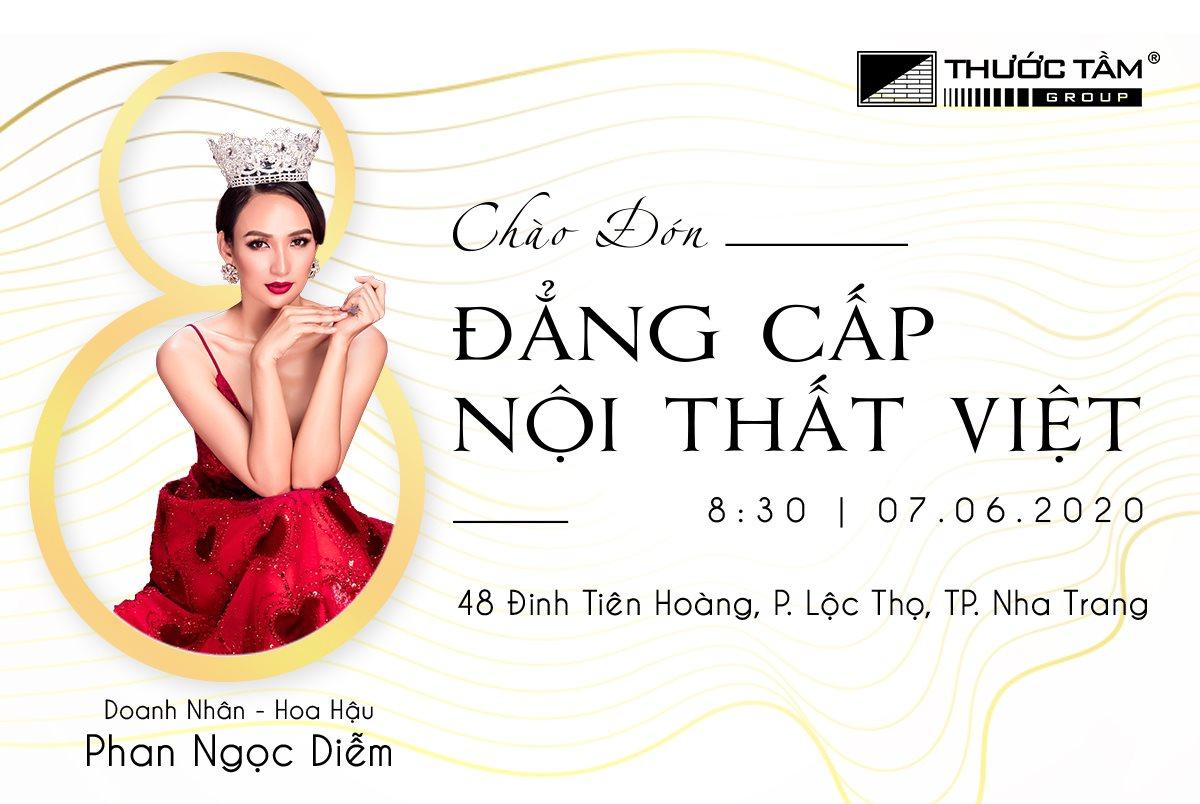 Thước Tầm Group: Tưng bừng khai trương showroom nội thất cao cấp tại Nha Trang, ưu đãi tiền tỷ dành cho khách hàng