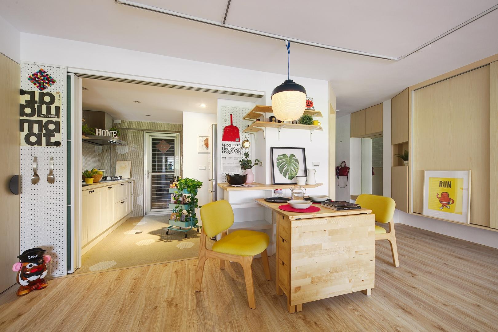 Thiết kế căn hộ nhỏ đầy phong cách thân thiện với trẻ em