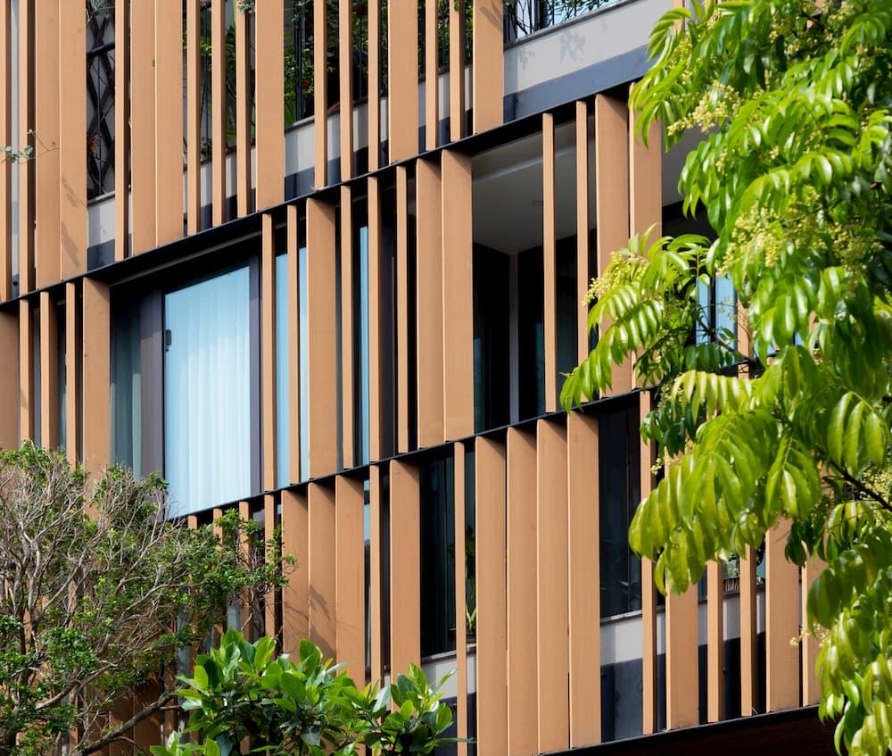 Kiến trúc mới cho một biệt thự liền kề