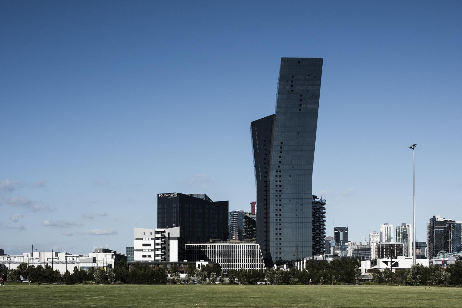 Ngắm nhìn tòa tháp Marina, biểu tượng kiến trúc độc đáo và hiện đại ở Melbourne, Úc